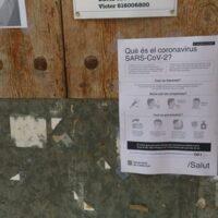 09/03/2020 - Cartell informatiu sobre el Coronavirus.